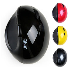 Qisan Wireless Vertical Ergonomic Mouse