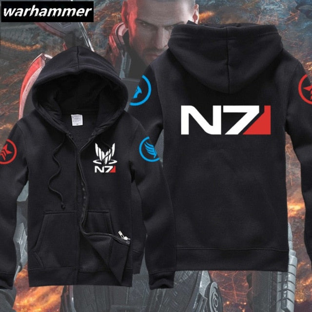 Mass Effect 3 N7 Men's Gamer Hoodie