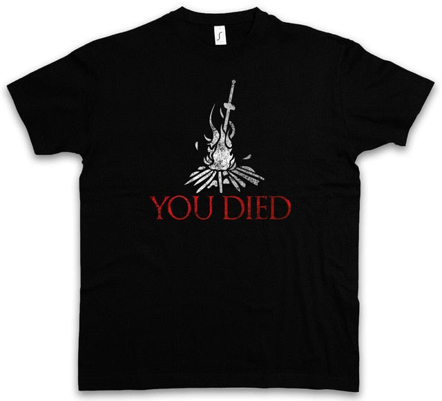 YOU DIED Dark Souls T-Shirt