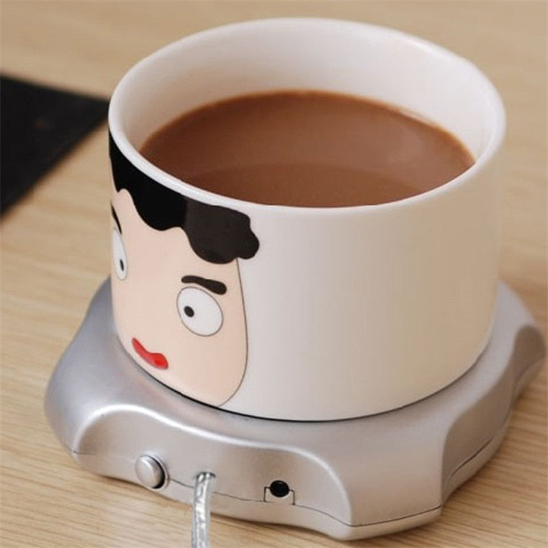 Desktop Tea Coffee Cup Warmer Pad