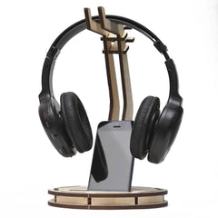 Wooden Gaming Headset Stand