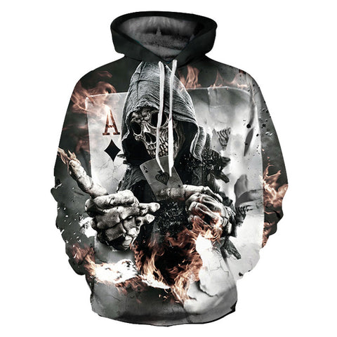 Skulls Hoodies Men/Women Sweatshirts