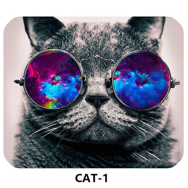 Cute Cat Mouse Pad
