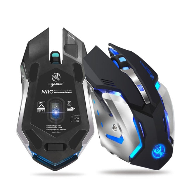 HXSJ M10 Wireless Rechargeable Mouse