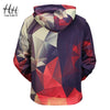 New 3D Geometric Men Hoodies