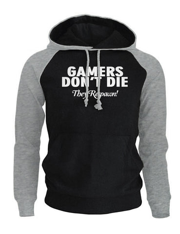 GAMERS DON'T DIE Men's Hoodies