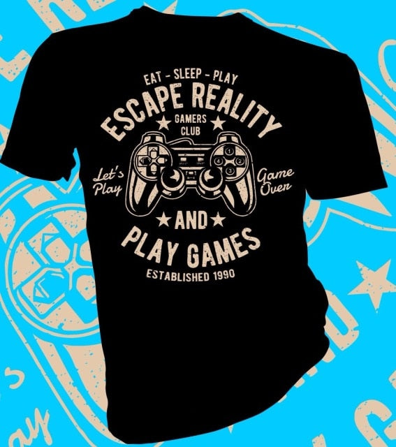 Unisex casual gamer T-shirt