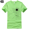 CPU Core Heart Men's T-Shirt