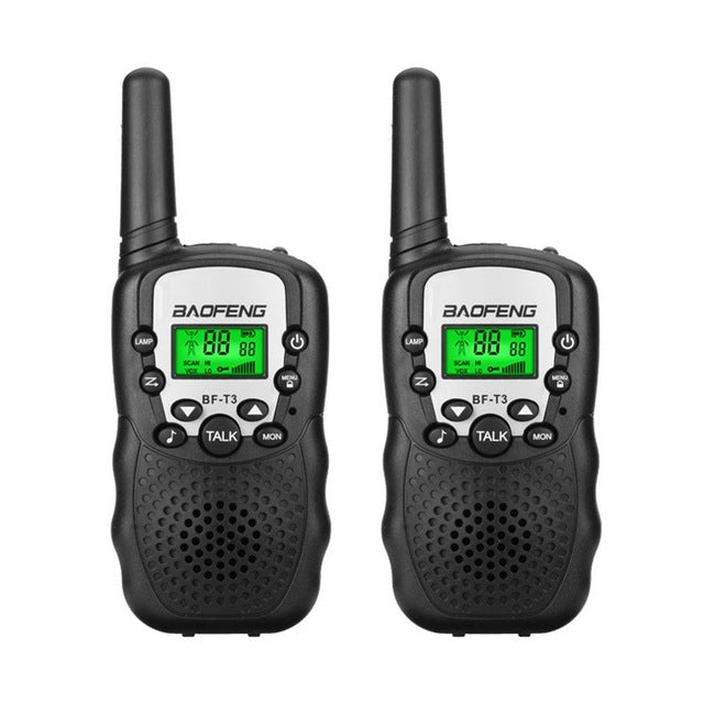 2Pcs BaoFeng Mini Walkie Talkie