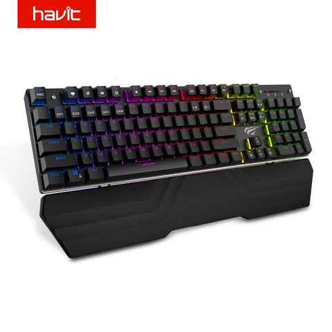 Anti-Ghosting Mechanical Gaming Keyboard