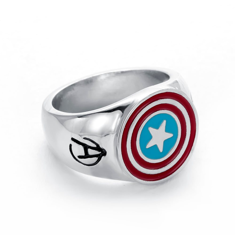 Captain America Men Ring