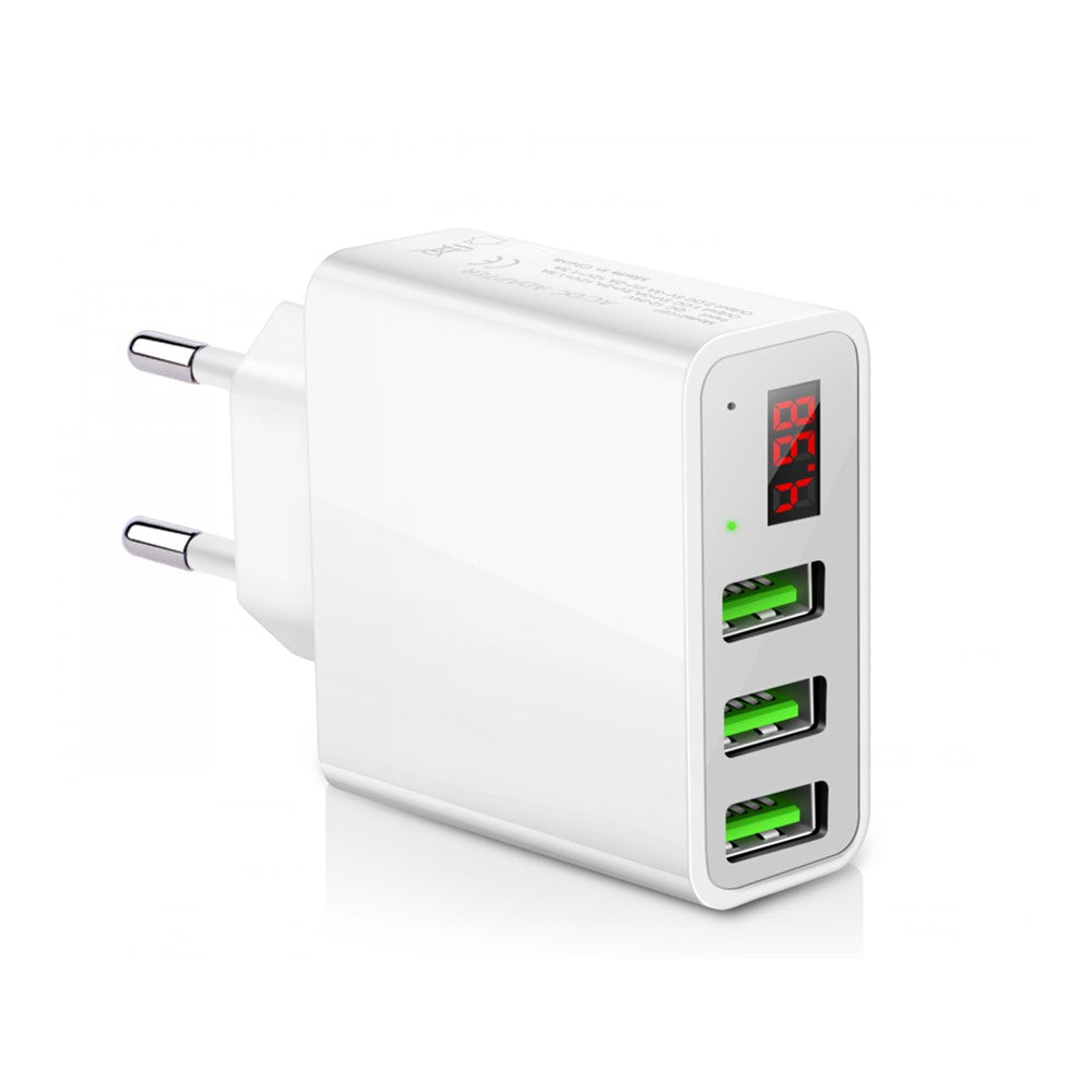 Powstro Universal 5V 3A 3 USB Charger