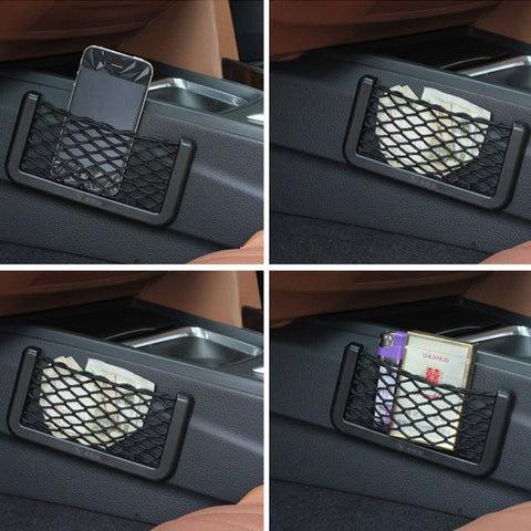 Car Auto String Mesh Bag Storage