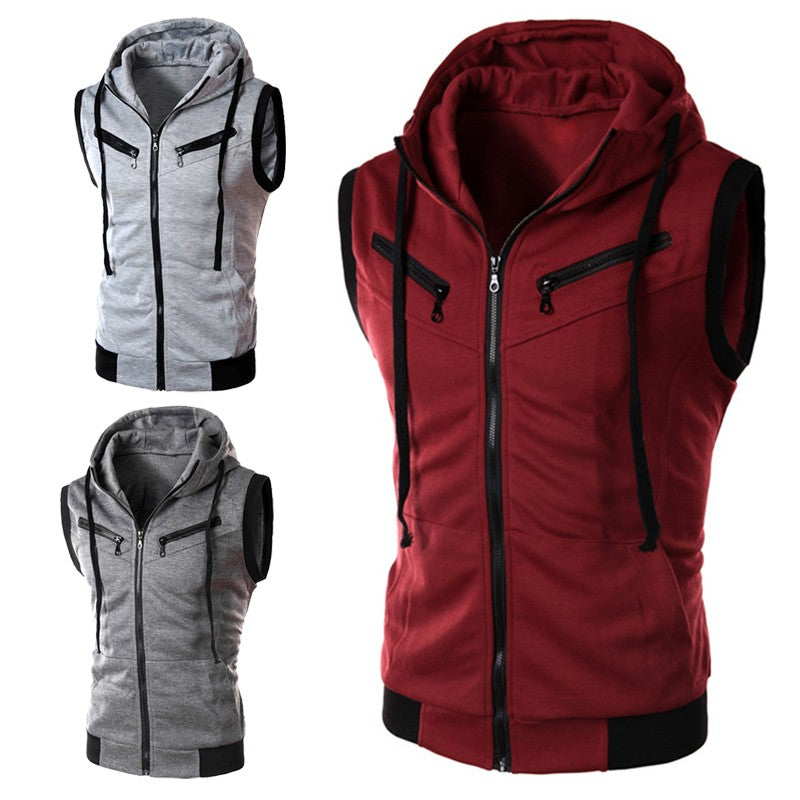 2019 Geek Men's Slim Vest