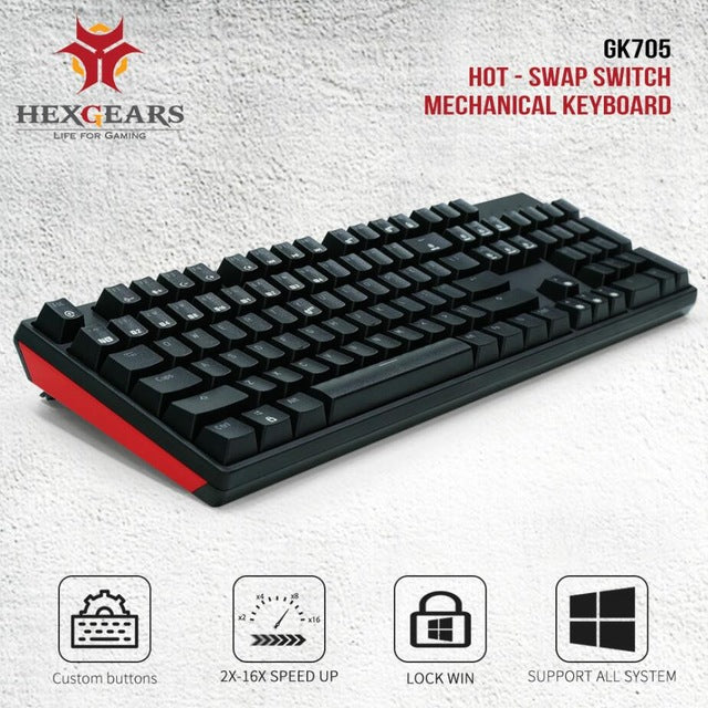 GK705 Mechanical Gaming Keyboard