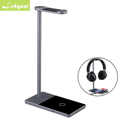 2 in 1 Headset Stand+Wireless Charger