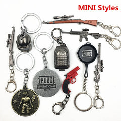 Gamers PUBG Costume Keychains