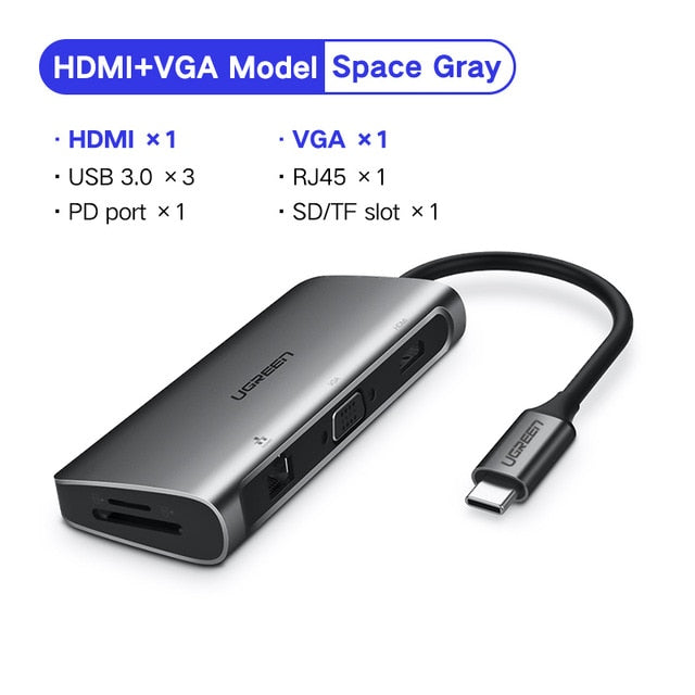 Ugreen USB HUB C to HDMI