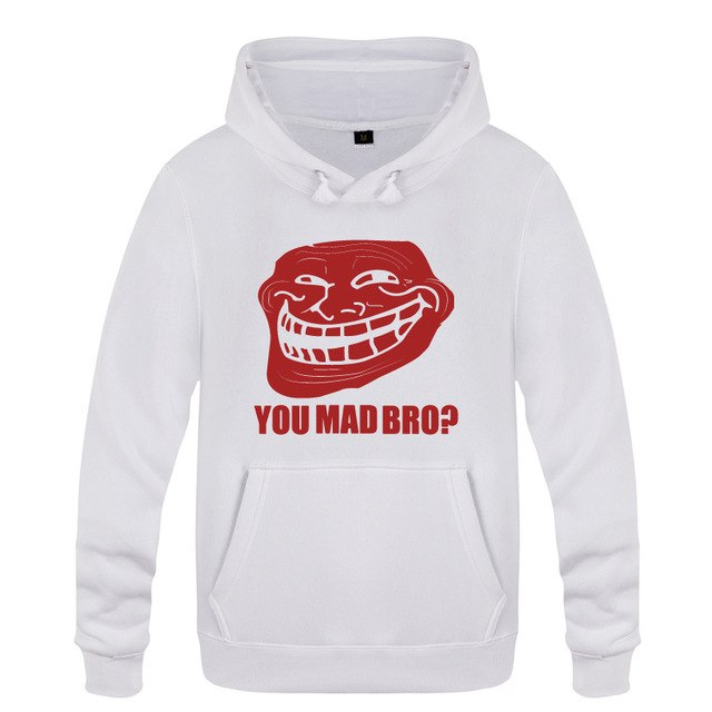 Troll Face - Men's Hoodies