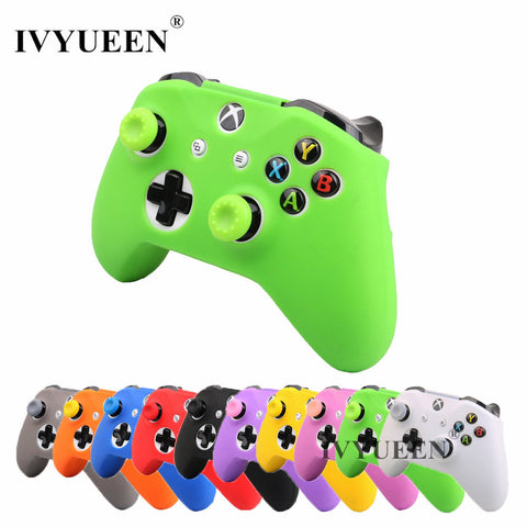 XBox One/X/S Controller Silicone Skin Case + Analog Thumb Stick Grip Cap