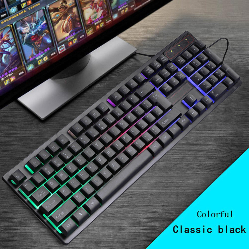 Gaming Keyboard Mechanical Feeling