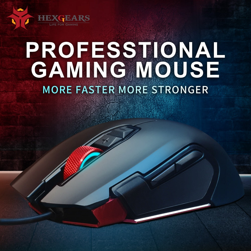 HEXGEARS Programmable Mouse