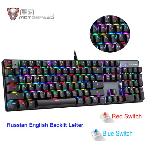 CK104 Mechanical Anti-Ghosting Gaming Keyboard