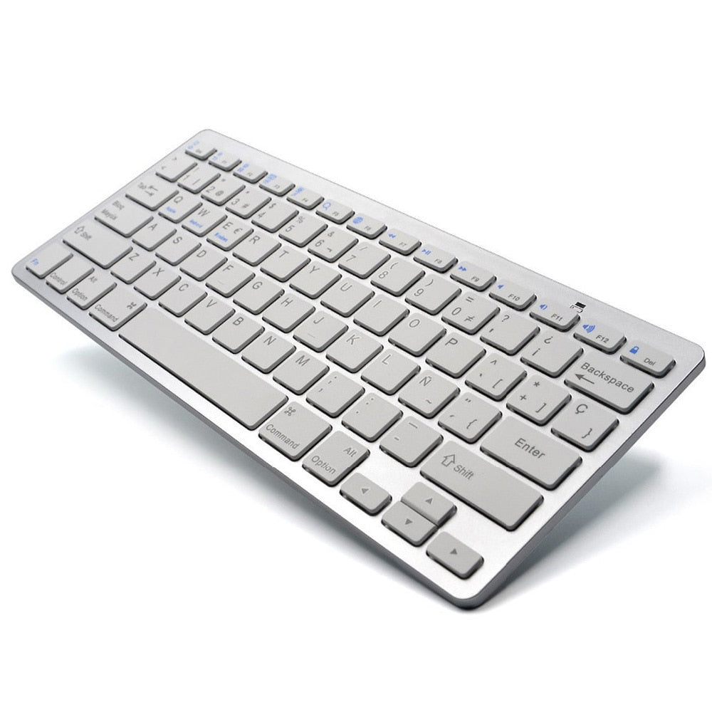 Spanish/English Universal Bluetooth Keyboard