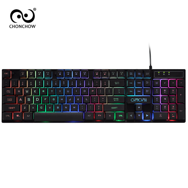Backlight Gaming Keyboard Mechanical Feelling