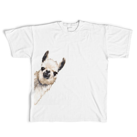 2018 Funny Sneaky Alpaca Unisex T-Shirt