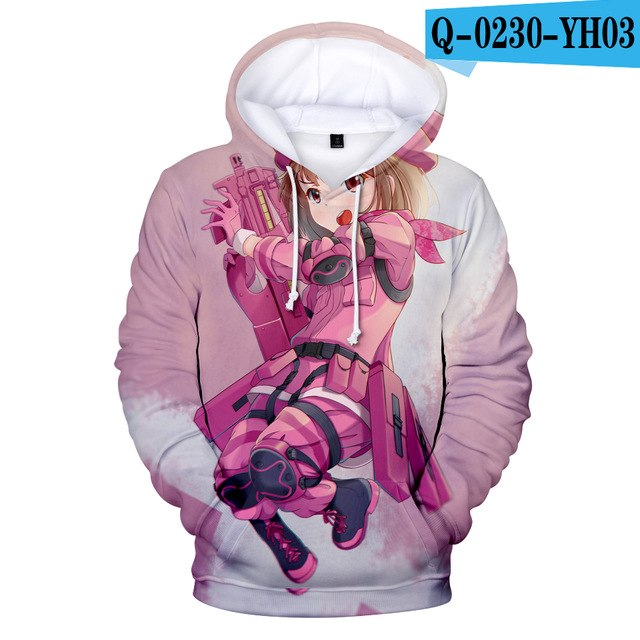Unisex Hoodies Sword Art Online