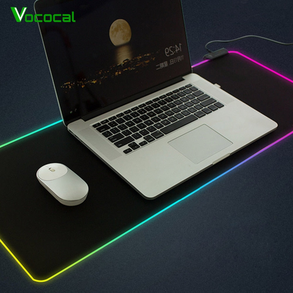 Vococal USB Wired RGB Mouse Pad
