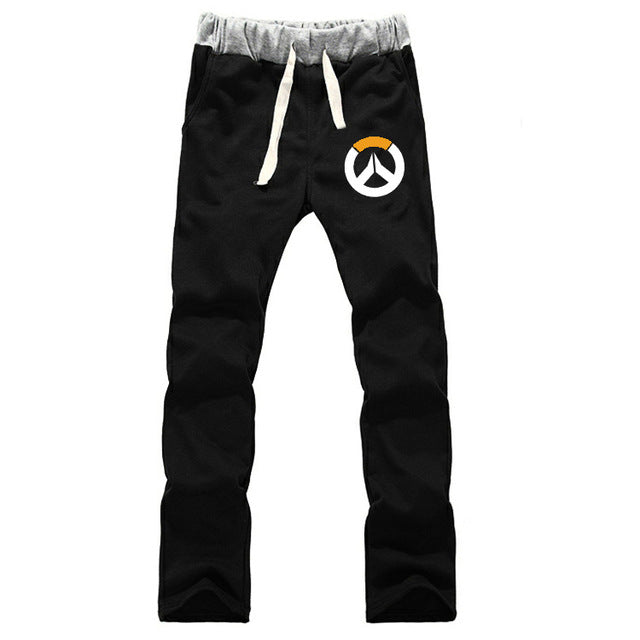 Over Watch Printed Sweatpants