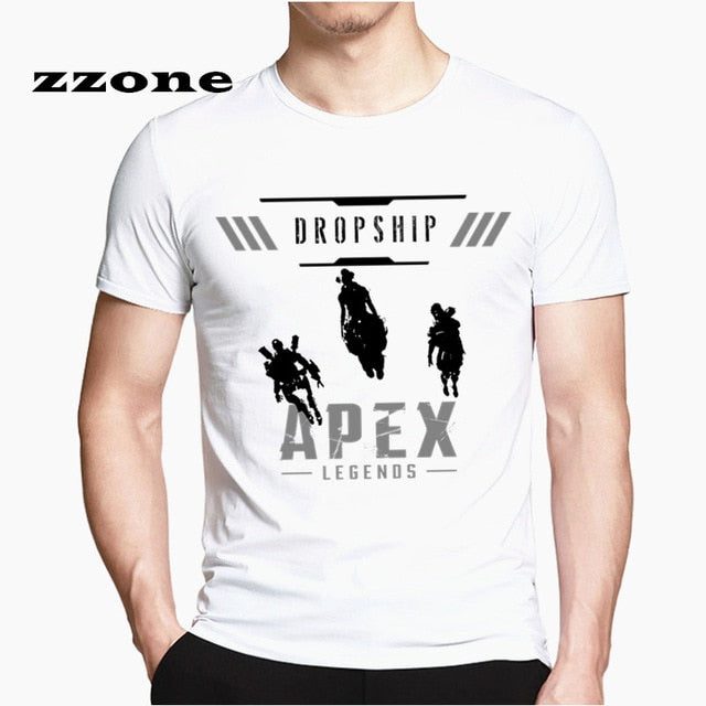 Men Fashion Summer Apex Legends T-Shirt