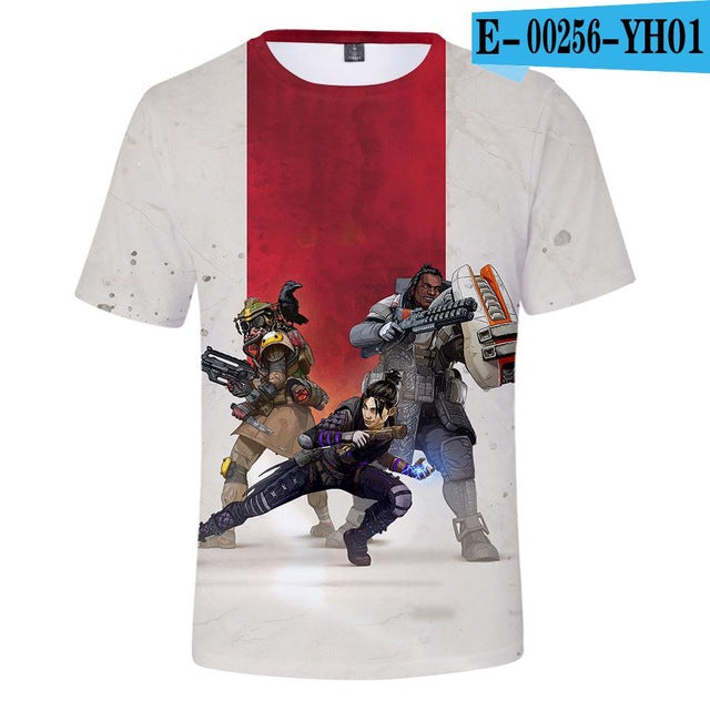 Apex Legends 3D Cool T-shirt Men Women