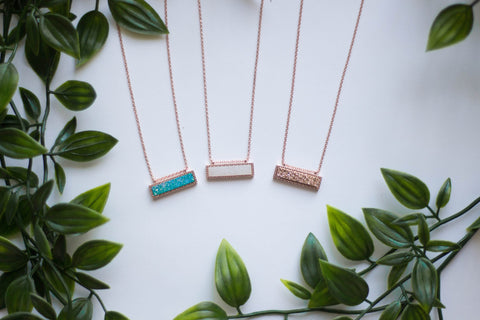 Durzy Necklaces Rose Gold Pendant