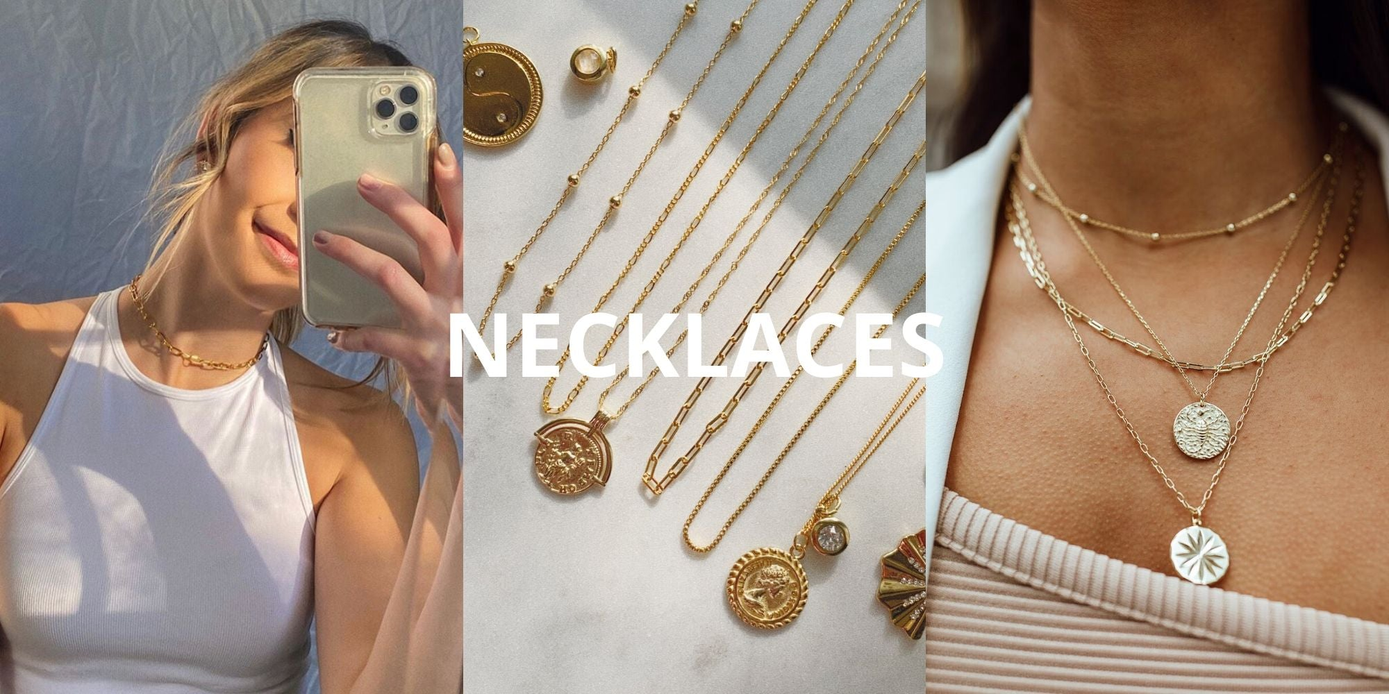 Layering Necklaces From Little Sky Stone