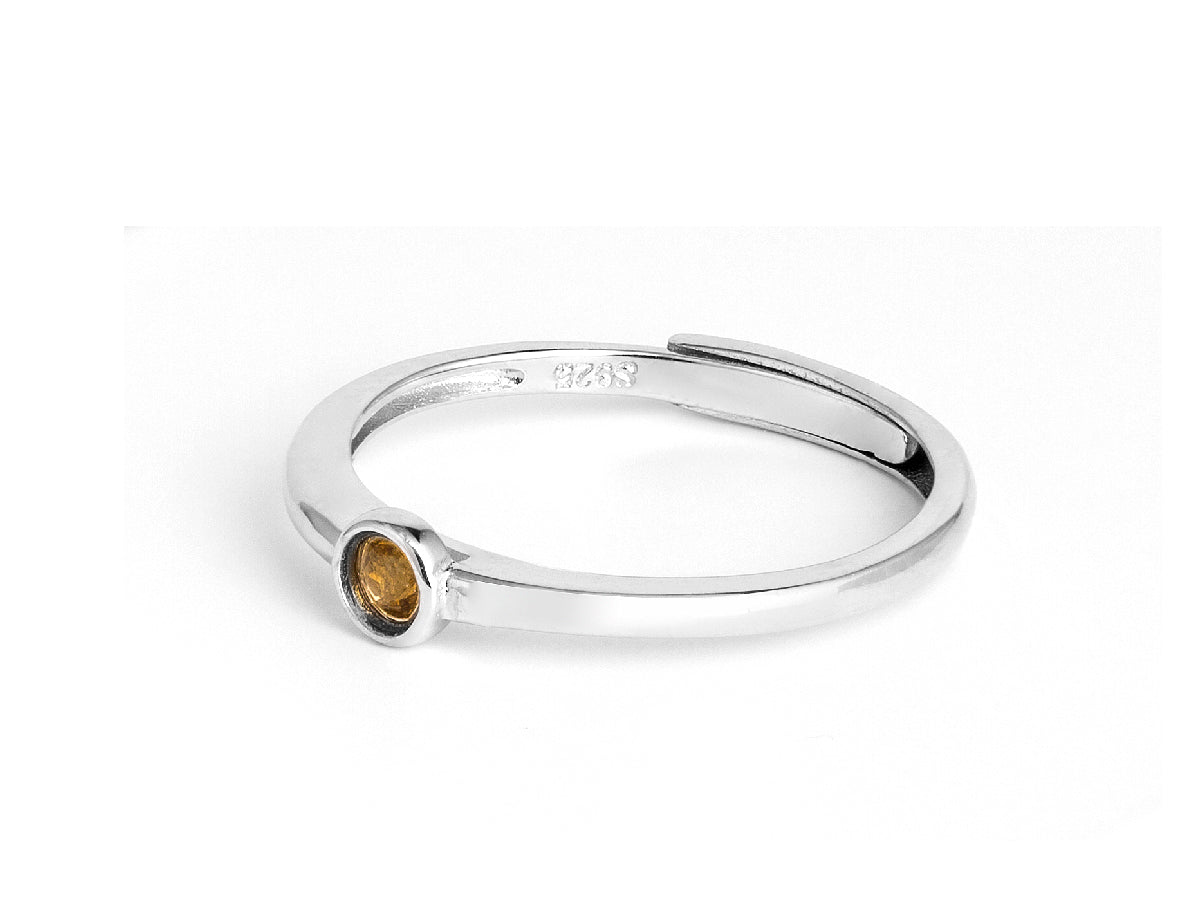 Citrine Sterling Silver Ring in Columbus Ohio