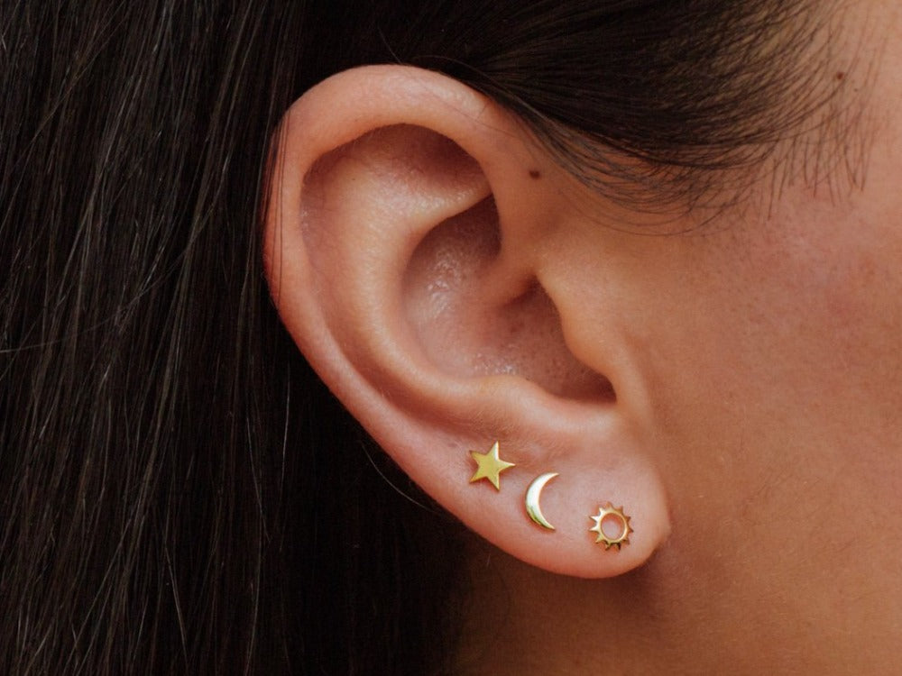 Celestial Stud Earrings mix and match