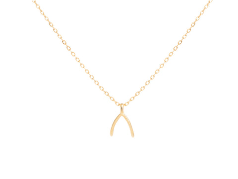 Bee Pendant Necklace in 14K Gold