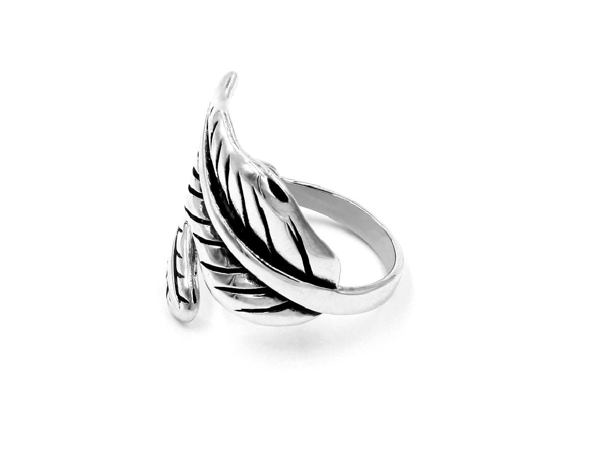 Dali's leaf - Sterling Silver Ring in Columbus Ohio
