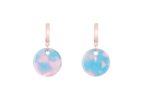 Dot Acrylic Drop Earrings