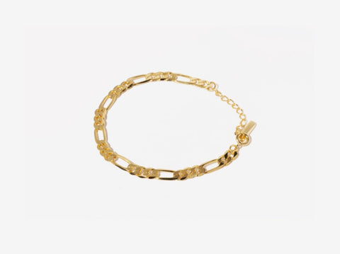 Oval Link Choker Necklace in 14K Gold