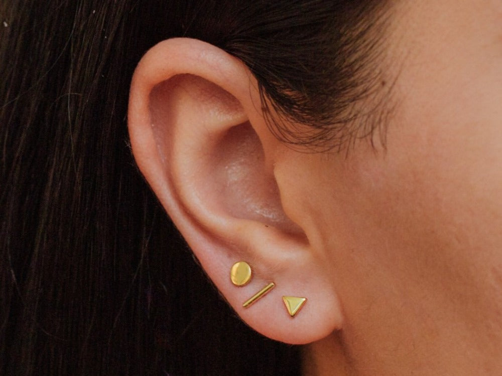 Geo Stud Earrings Mix and Match