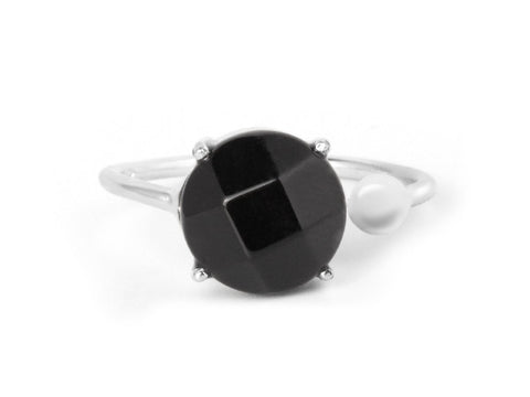 Levitation Garnet & Sterling Silver Ring
