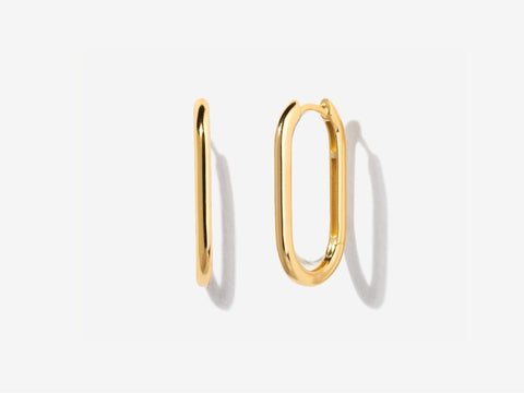 Small Thin 14K Gold Filled Hoops