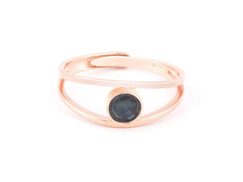 Antre Rose Gold Druzy Ring