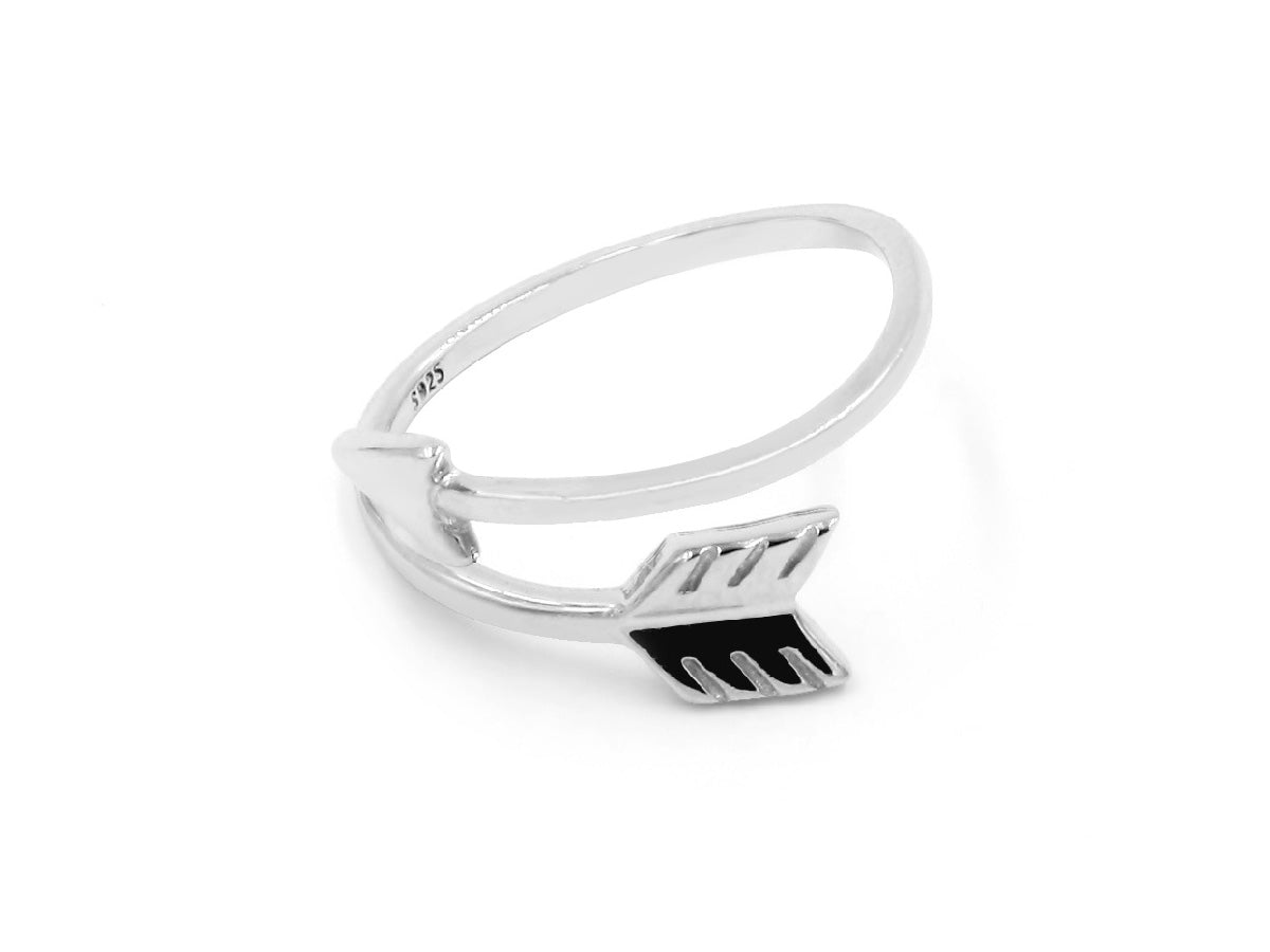 Lock the Love Arrow Sterling Silver Ring in Columbus Ohio