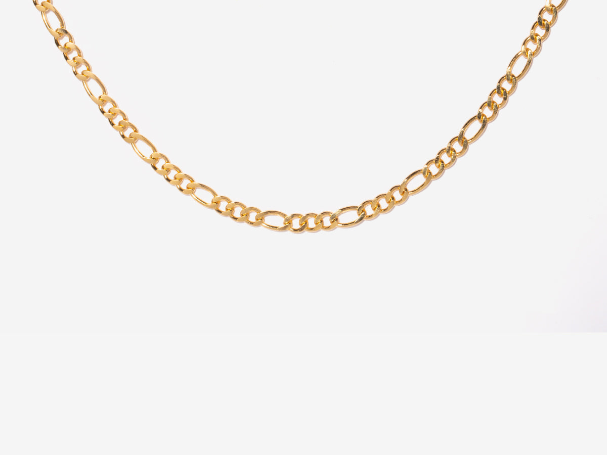 Michelle Figaro Chain Gold Filled Necklace