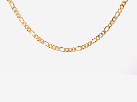 Gemini Zodiac Coin 14k Gold Necklace